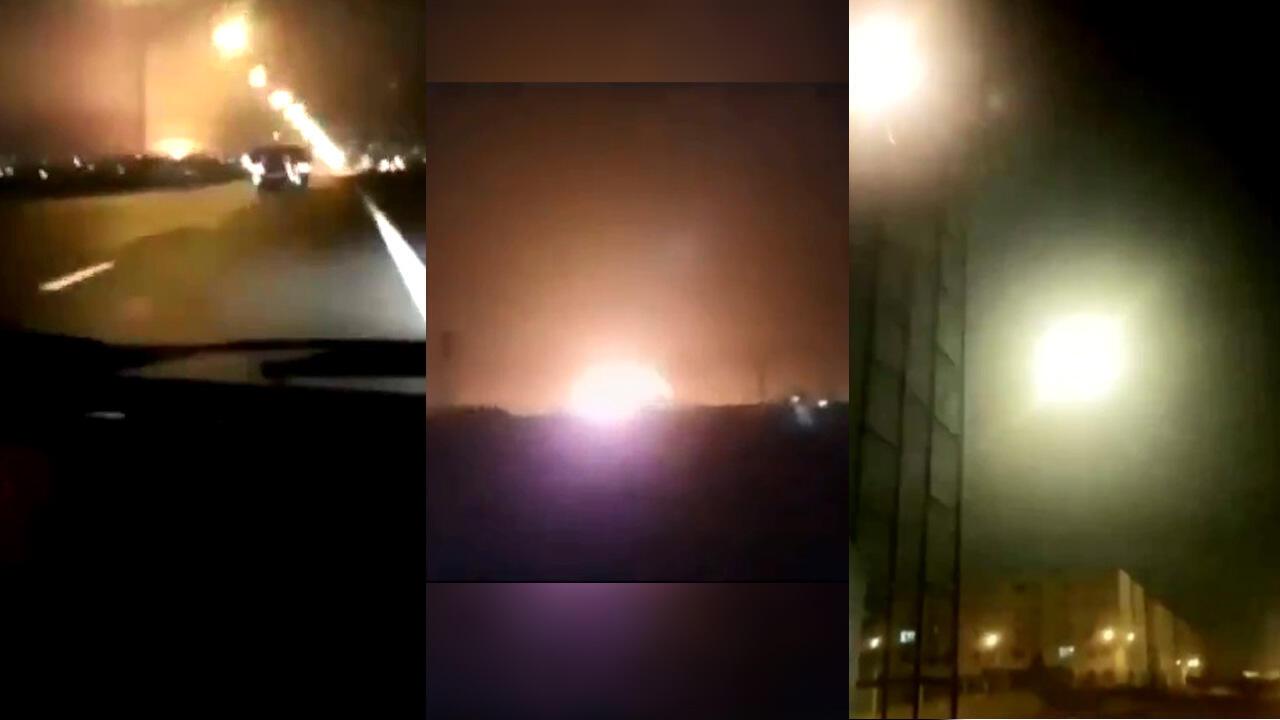 تصاویر آماتور که شهروندان از لحظات پیش از سقوط بویینگ خطوط هوایی اوکراین گرفته اند جزییات مهمی را از این سقوط برملا میکنند