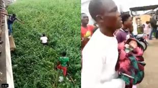 Au Bénin, le bébé retrouvé en vie sous un pont a été pris en charge par une structure d'Etat. Capture écran.