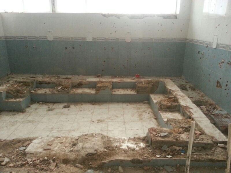 Les autorités chiites de Téhéran ont détruit cette salle de prière sunnite.