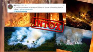 De nombreuses photos partagées sous le hashtag #PrayForAmazonia sont soit anciennes, soit n'ont pas été prises en Amazonie.
