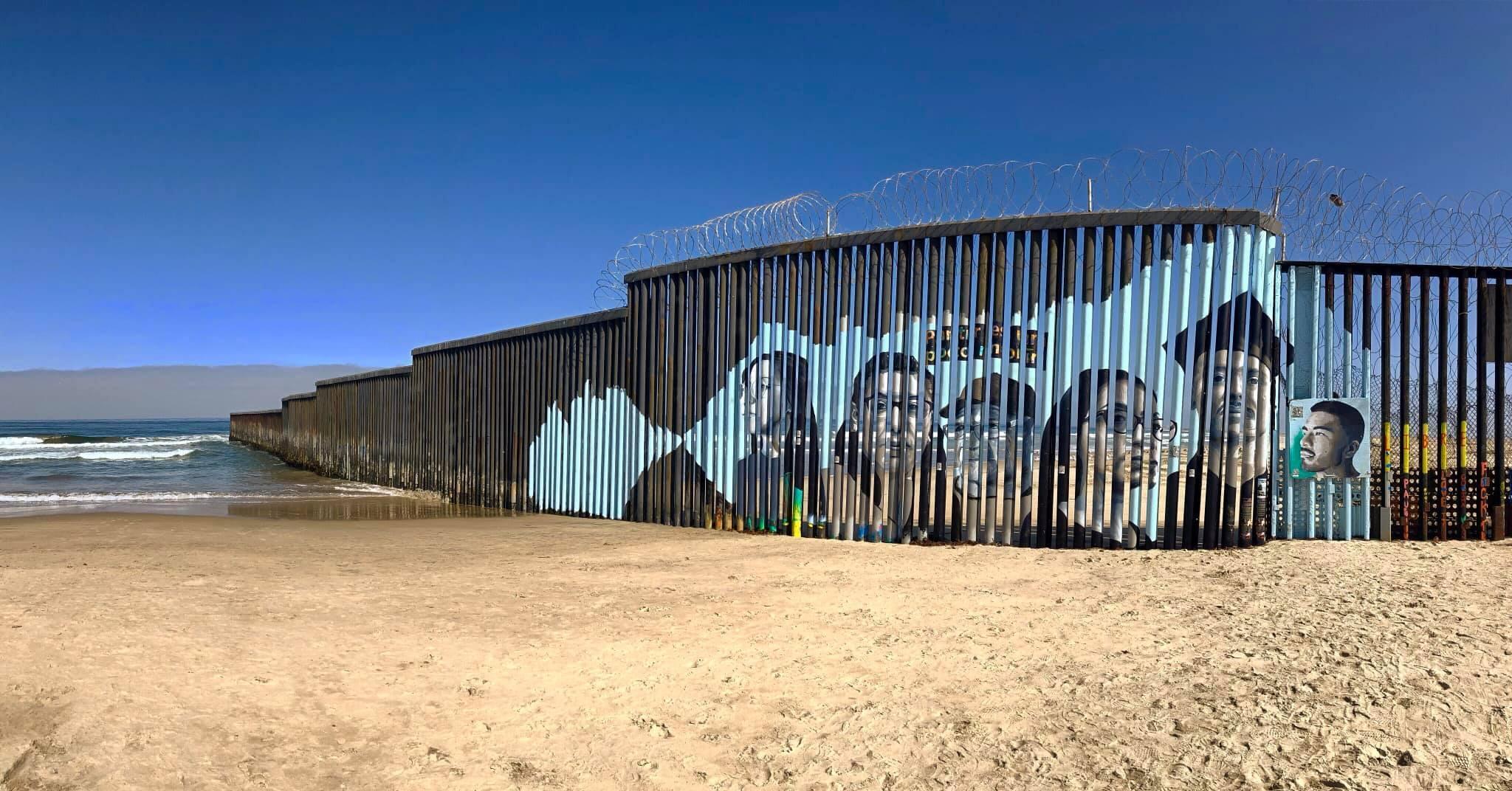 Photo du projet de fresque murale, dirigé par Lizbeth De La Cruz Santana.