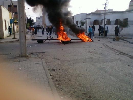 The Sidi Bouzid protests, December 20, 2010