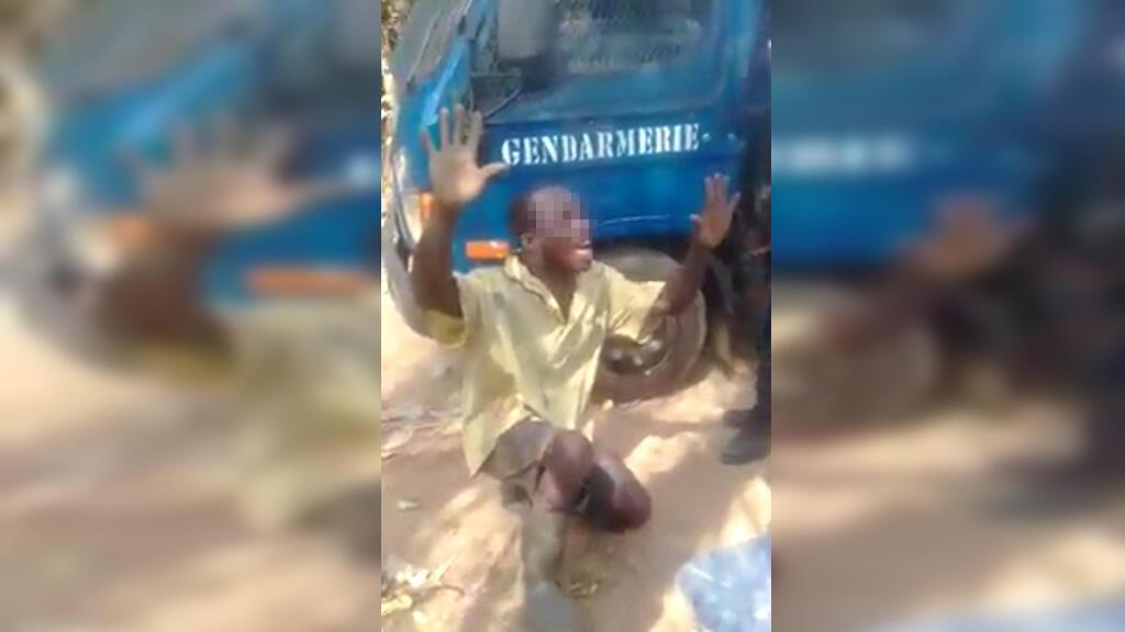 Une vidéo montrant un homme humilié par des gendarmes a circulé en Côte d'Ivoire depuis le milieu du mois de mai. Les Observateurs de France 24 ont mené l'enquête