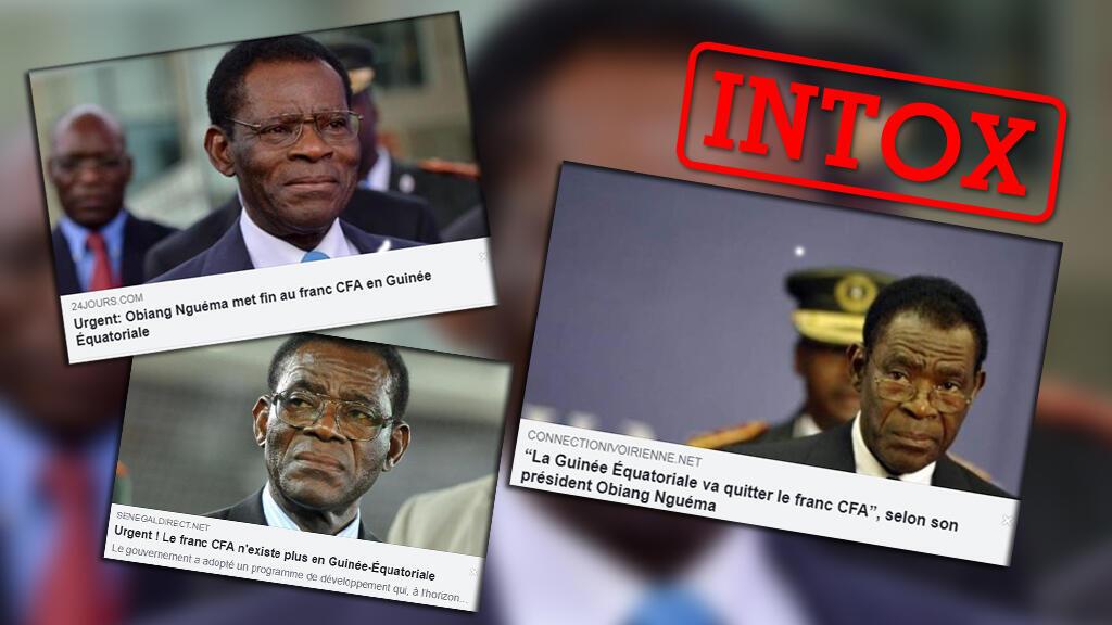 L'information selon laquelle le président équato-guinéen Obiang Nguéma mettrait fin au franc CFA s'est répandue depuis début septembre. L'information vient en fait d'un site parodique.