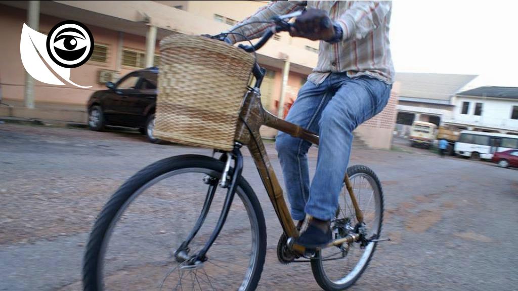 """Photo publiée sur la page Facebook """"Ghana Bamboo Bikes""""."""
