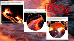 Après une éruption volcanique en RD Congo, de fausses photos et vidéos ont été diffusées, aussi bien sur Twitter que sur Facebook.