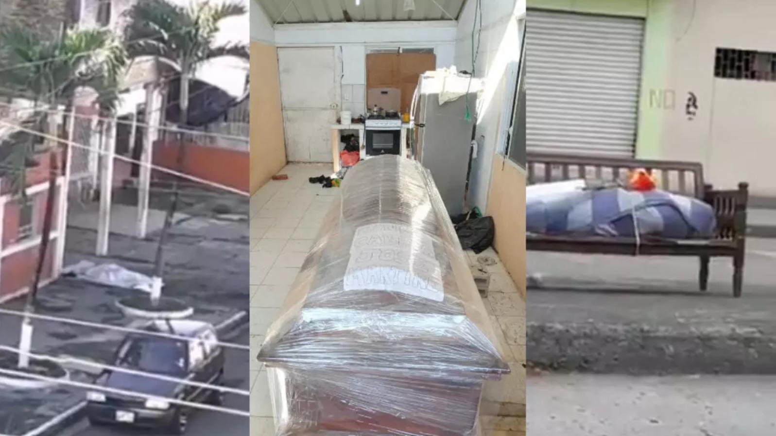 Plusieurs cadavres abandonnés dans les rues de Guayaquil et filmés ou photographiés par des passants au mois d'avril.