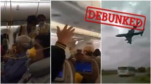 Several videos claiming to show the cabin of Ethiopian Airlines flight ET302 moments before the crash circulated widely social media.