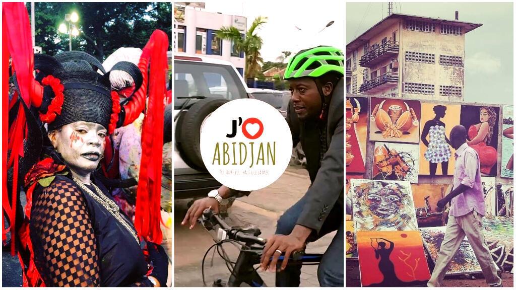 """Par des photos, des vidéos-portrait, ou des énigmes sur sa page Facebook, la page """"J'aime Abidjan"""" veut faire découvrir les beautés de la capitale économique ivoirienne."""