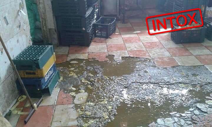 """L'une des photos relayée et présentée comme une partie de l'usine """"chinoise"""" de jus en RDC."""