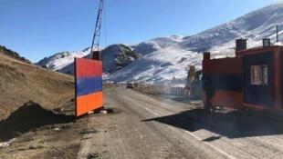 Fermeture de la route permettant d'accéder au Haut-Karabakh via le district de Kelbadjar