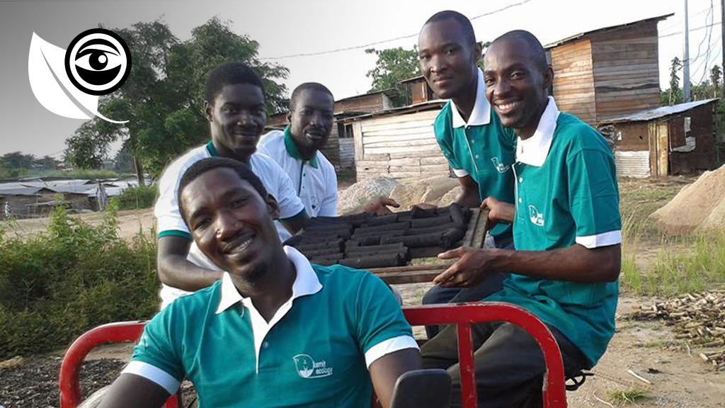 The Kemit-ecology team in Douala has come up with a biological coal based on household trash such as vegetable peelings and grains, a regional-first.