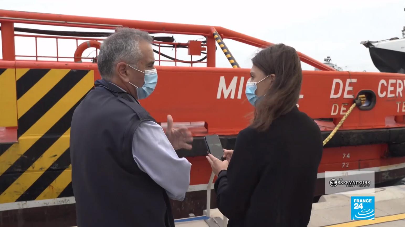 Roberto Basterreche, chef du centre de coordination des secours du Salvamento Marítimo à Las Palmas, explique les dangers des traversées vers les Canaries dans notre dernier numéro de Ligne Directe.