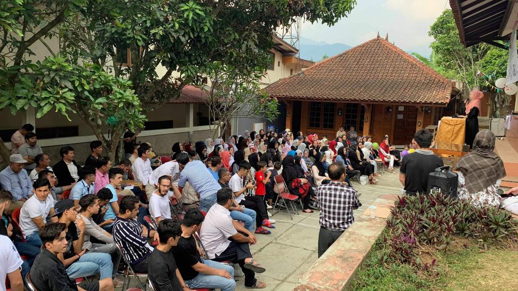 Le Refugee Learning Center, à Cisarua, dans la province de Java occidental, en Indonésie.