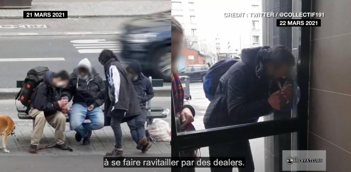 À Paris, les consommateurs de crack résistent au couvre-feu
