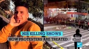 The killing of Dilan Cruz marked a turning point in the protests in Colombia.