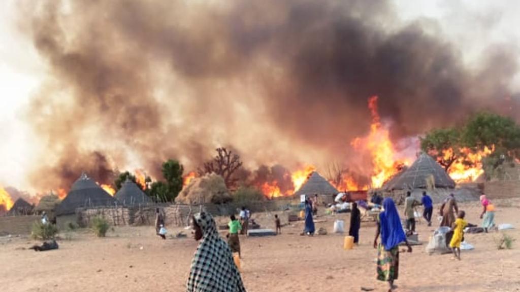 Des affrontements entre éleveurs et agriculteurs dans l'État d'Ebonyi, dans le sud-est du Nigeria, en février 2021.