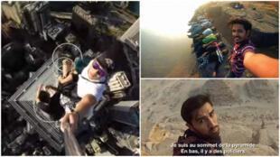 De Hong Kong à l'Egypte, en passant par l'Inde, de nombreux internautes sont prêts à tout pour le selfie parfait… Quitte à prendre de véritables risques.