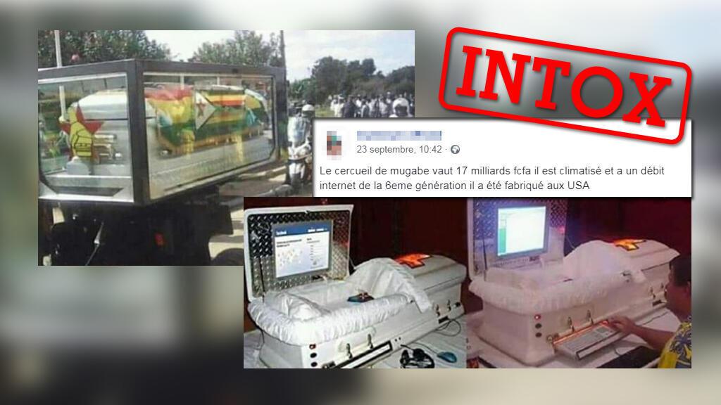Un cercueil à 17milliards de francsCFA pour Robert Mugabe lors de ses funérailles? Pas si vite...