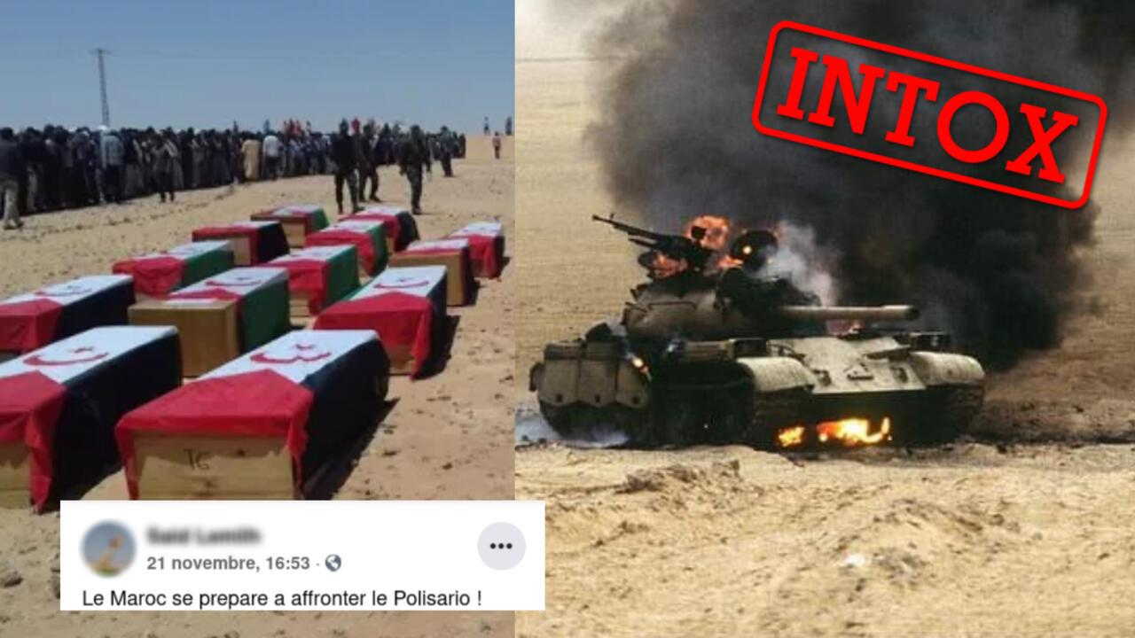Maroc : florilège d'intox autour de l'opération militaire dans le Sahara occidental