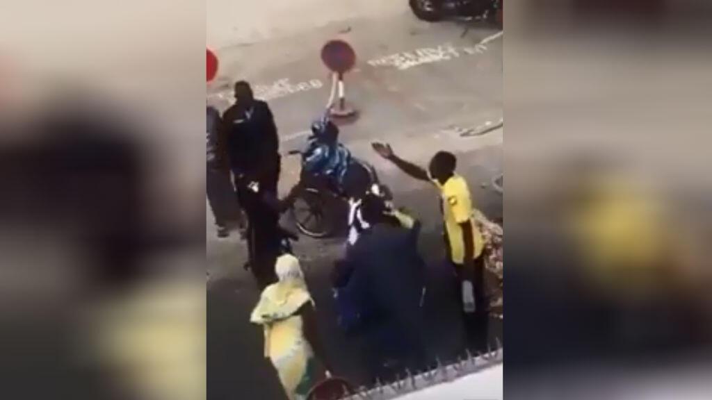 تصویر گرفته شده از ویدئوی داخل این متن که در سنگال اتفاق افتاده است