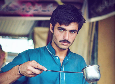 The photo that made Arshad Khan famous. Photo by Jiah Ali.