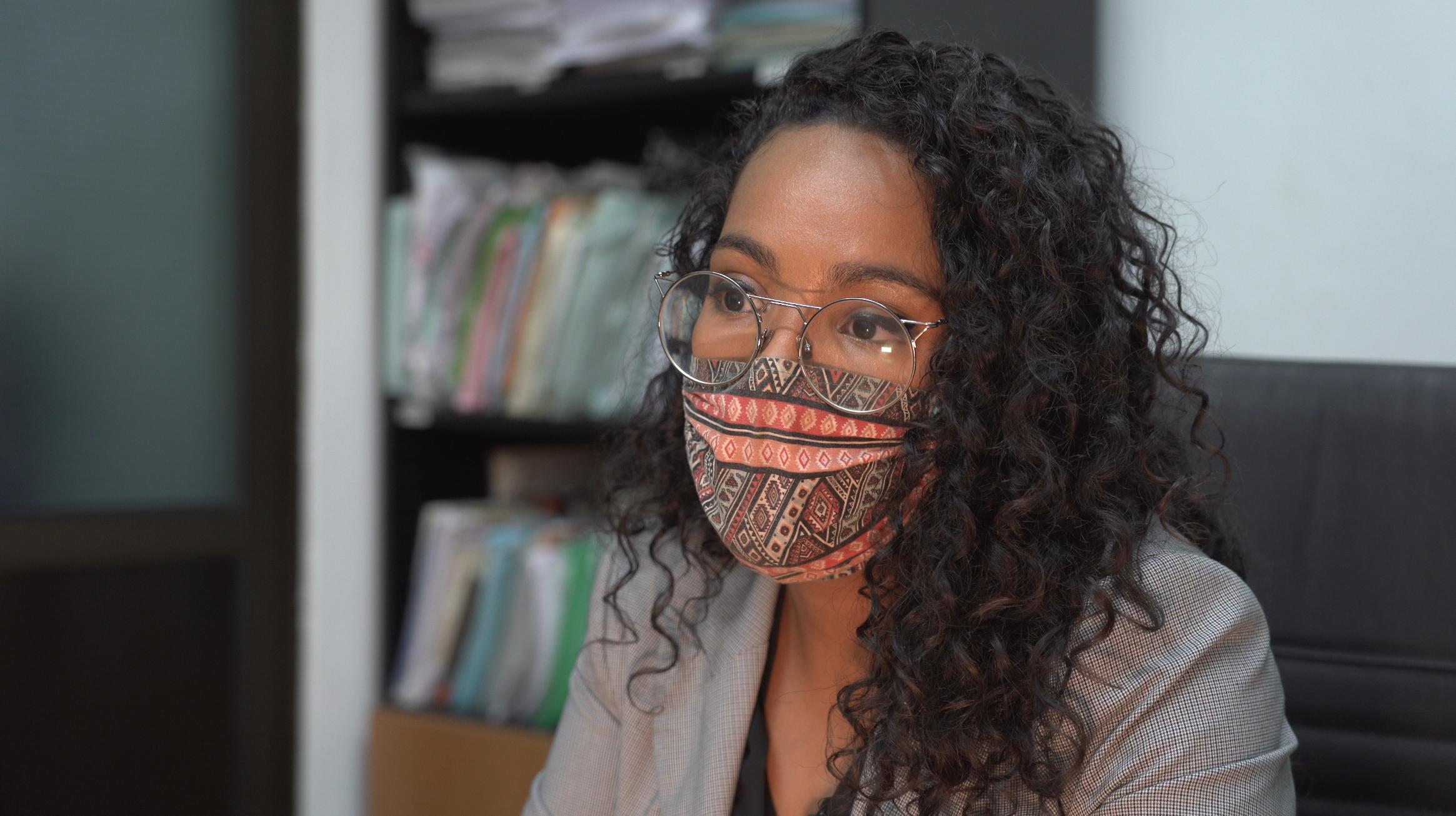 Farhana Mahamud Dich est avocate spécialisée en droit des étrangers et vice-présidente de l'association des femmes africaines des Canaries.
