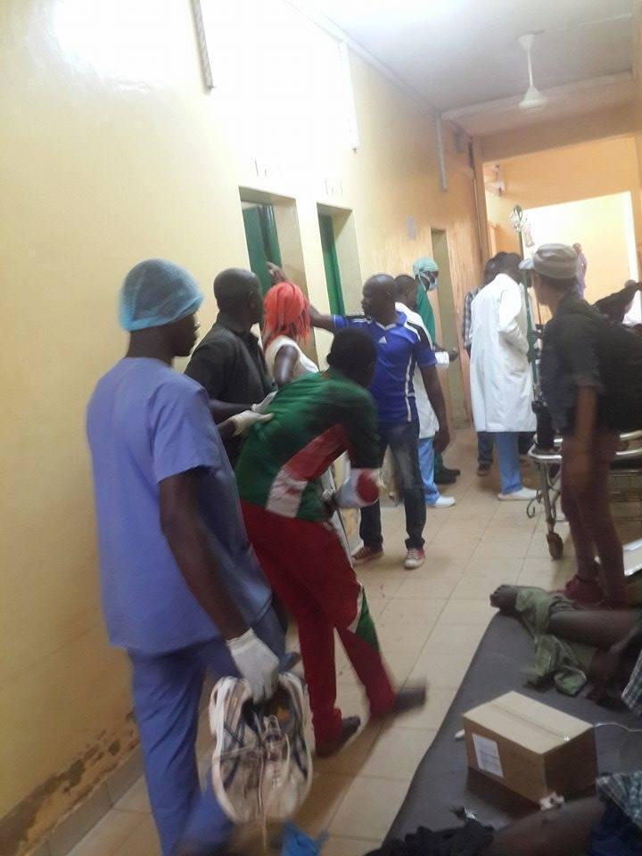 Yalgado Ouédraogo hospital in Ouagadougou, on Thursday. All photos were sent in by our Observers.