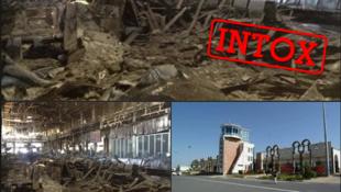 Intox aéroport Aksoum Ethiopie