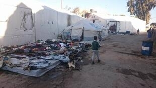 This photo was taken by our Observer, an Italian volunteer in the Souda refugee camp in Greece.