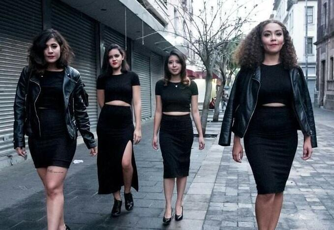 'Las Morras' use video and social media to fight back against misogyny in Mexican society. Photo credit: Las Morras.