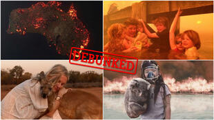 Fake images of the wildfires in Australia have been circulating on social media. Our team took a look at five of these images that are getting a lot of traction.