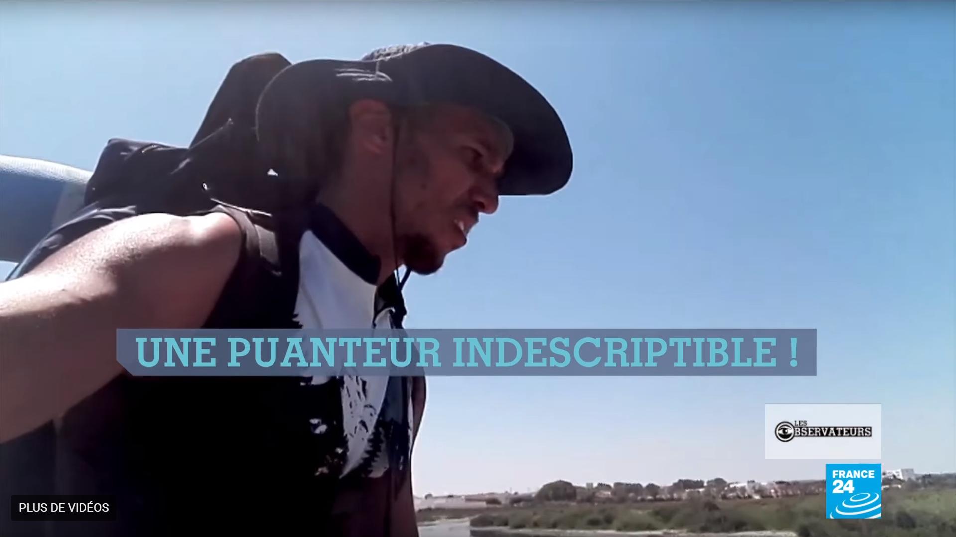 Mohammed Oussama Houij a passé l'été à traquer les preuves des pollution industrielle sur la côte tunisienne.