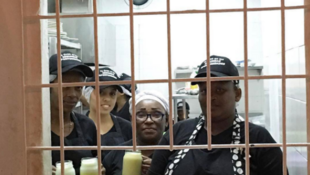 """Interno - a restaurant housed in a women's prison in Cartagena, in northern Colombia - opened its doors in December 2016. (Photo published on the """"restauranteinterno"""" Instagram account on March 10)."""