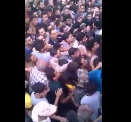Capture d'écran de la vidéo publiée sur Libya is talking