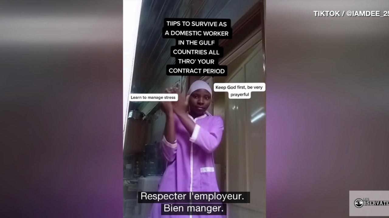 """Les Observateurs - Arabie saoudite : avec humour et gravité, une Kényane raconte """"l'esclavage moderne"""" des domestiques"""