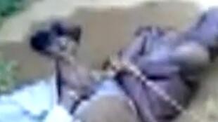 Cature d'écran de la vidéo postée sur YouTube.