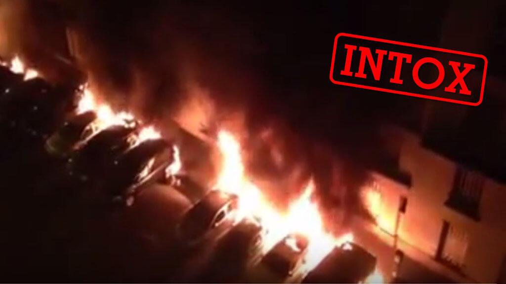 Capture d'écran de la vidéo, tournée dans la nuit du 13 juillet 2015.