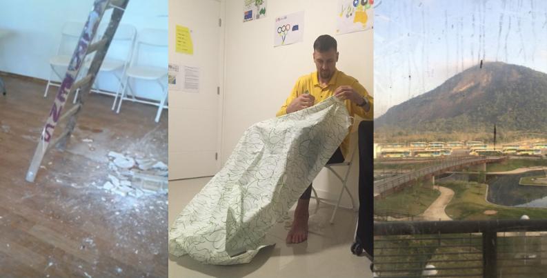 Travaux non finis, saleté, équipements en mauvais état... De nombreuses images faisant étant de divers problèmes au village olympique de Rio de Janeiro ont circulé depuis deux semaines.