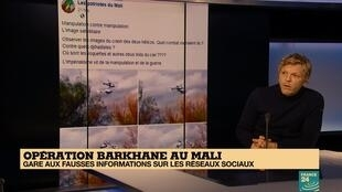 Décryptage des intox visant l'armée française sur le plateau de France 24.