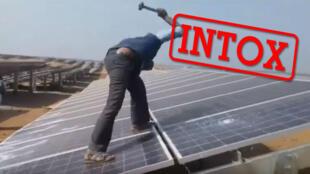 شایعه شکستن صفحه های خورشیدی به خاطر خشم خدای خورشید