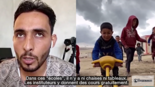 Notre Observateur raconte le quotidien des réfugiés d'Idlib sur TikTok.