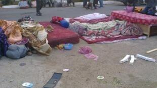 Au moins 1 400 ressortissants d'Afrique subsaharienne ont été arrêtés à Alger. Photo envoyée par un Observateur.