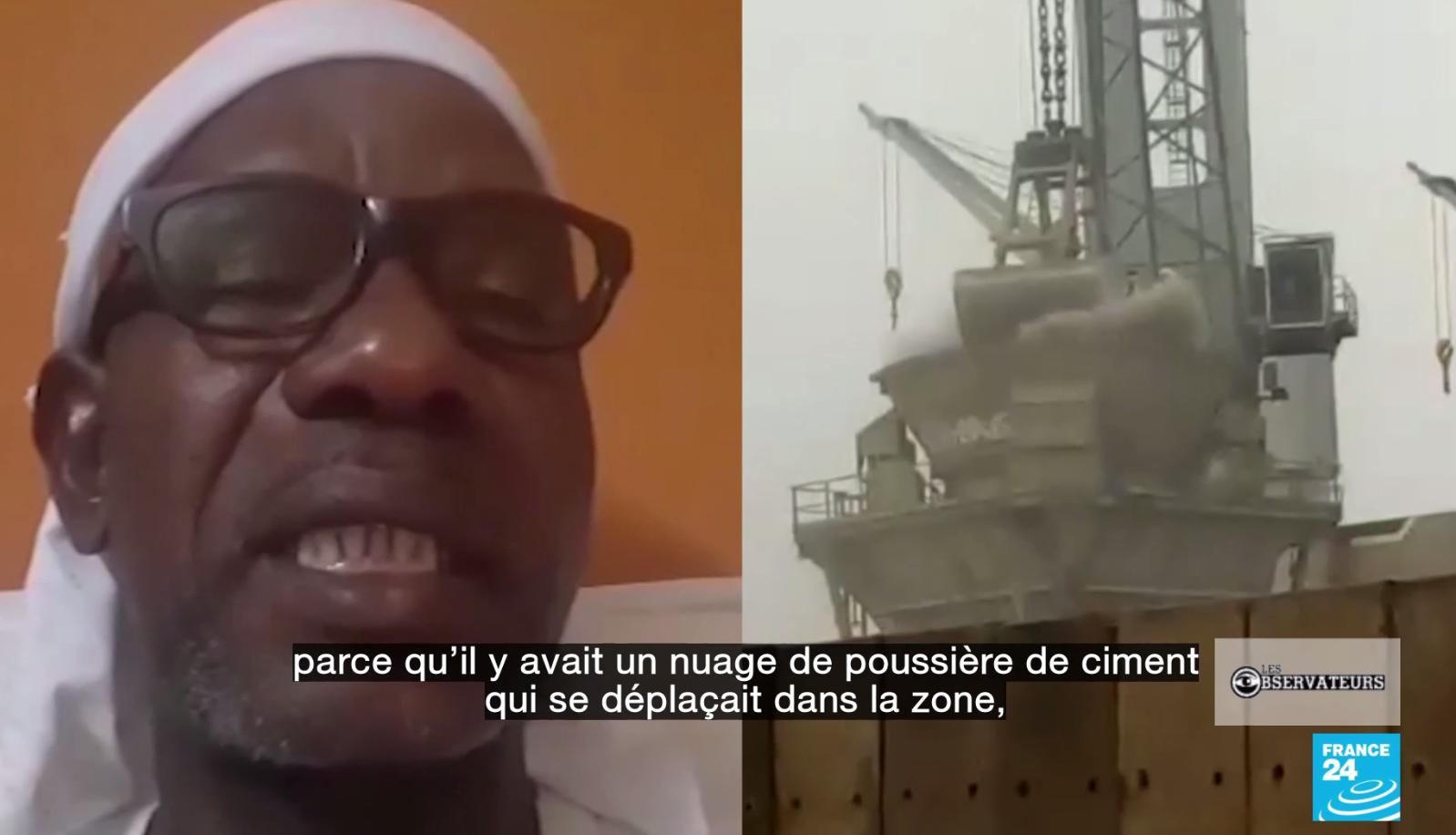à Abidjan, un quartier étouffe sous la poussière de clinker des cimenteries voisines
