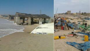 Photos prises par notre Observateur les 24 et 25 novembre à N'Diago, en Mauritanie.