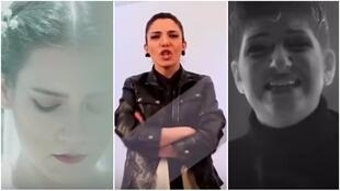 Iranian singers Madmazel, Justina and Melanie all stopped wearing headscarves in their music videos.