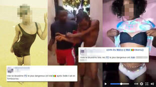 People in Mali have started using Facebook, Youtube and WhatsApp to post photos meant to shame and identify gay men.
