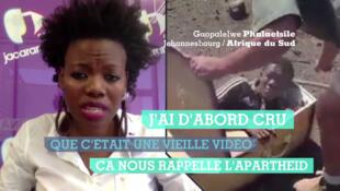 Notre Observatrice Gaopalelwe Olivia Phalaetsile décrypte l'impact de cette vidéo sur la société sud-africaine.