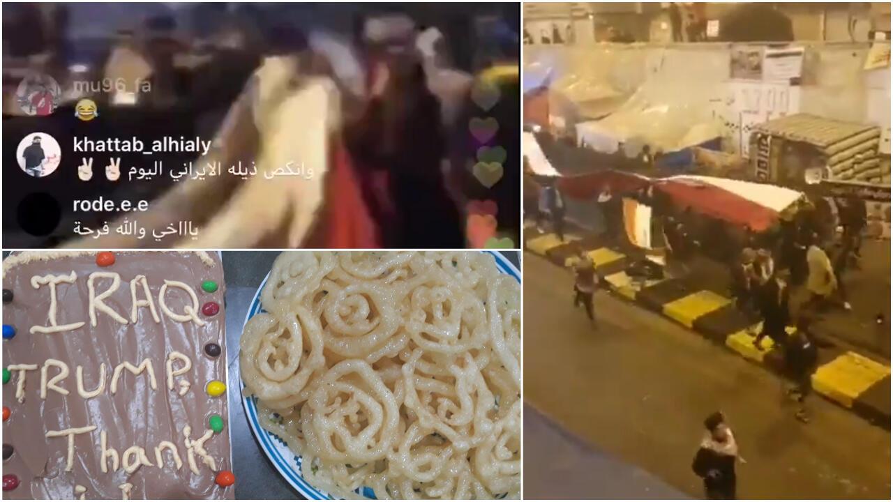 Certains Irakiens ont célébré la mort de Qassem Soleimani