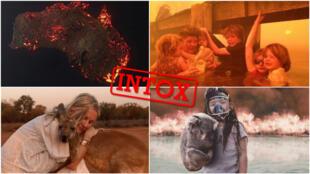 Les incendies en Australie donnent lieu à plusieurs intox... en voici 5 recensées dans cet article.